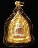 เหรียญสมโภชพระพุทธมหาเศรษฐีนวโกฏิ สถาบันพยากรณ์ศาสตร์ ปี 53 เนื้อสามกษัตริย์ พร้อมกรอบไมครอนทอง
