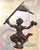 พญาชิงชัย (หนุมารเชิญธง) เนื้อนวโลหะ หลวงปู่ไข่ วัดลำนาว จังหวัดนครศรีธรรมราช