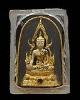 พระพุทธชินราช ลงรักปิดทอง พิมพ์เล็ก  วัดสนามนอก พ.ศ 2514 บางกรวย นนทบุรี  ลงรักปืดทอง พิธีใหญ่สมัย ส