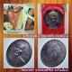 เหรียญรุ่นสรงน้ำ หลวงพ่อยิด จันทสุวัณโณ วัดหนองจอก จ.ประจวบคีรีขันธ์ พ.ศ.๒๕๓๗