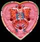 เทพจำแลงภมร รูปหัวใจ หลังฝังพลอยเสก เพ้นท์สี ครูบากฤษณะ สำนักสงฆ์เวฬุวัน สวย คม เชิญชมครับ