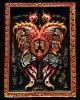 เทพจำแลงภมรจัมโบ้ 3 มิติ เพ้นท์สี ฝังตะกรุดเงินและพลอยเสก ครูบากฤษณะ สำนักสงฆ์เวฬุวัน สวย คม สมบูรณ์