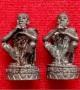 พระหล่อลอยองค์เอกลักษณ์ รุ่น คูณลาภ คูณเงิน คูณทอง หลวงพ่อคูณ ปริสุทโธ ปี36 เนื้อโลหะผสมรมดำ