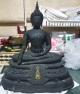 พระบูชา ภปร. ปี 2508 หน้าตัก 9 นิ้ว วัดบวรนิเวศวิหาร รุ่นแรก ใต้ฐานดินไทย สวยเดิมๆครับผิวหิ้ง
