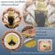 จตุคามรามเทพ รุ่นราชันย์ดำ เหรียญบาตรน้ำมนต์ 3 กษัตริย์ ขนาด 5.5 ซม. ปี 2550 ตอกโค๊ด หมายเลข 133