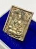 เหรียญหล่อนั่งเสือหลวงพ่อเปิ่น เนื้อเงิน วัดบางพระ ปี 2535